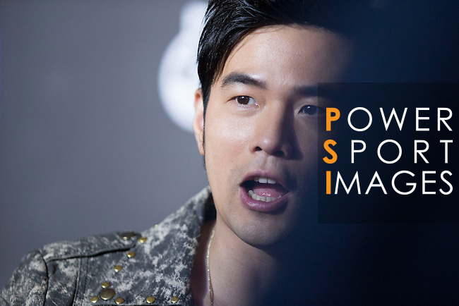 Singer Jay Chou on the Red Carpet event at the World Celebrity Pro-Am 2016 Mission Hills China Golf Tournament on 20 October 2016, in Haikou, China. Photo by Victor Fraile / Power Sport Images