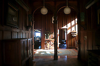 Inside the Clunies Ross Mansion on Home Island, Cocos Keeling Islands, Indian Ocean