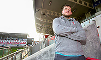 Tuesday 18th February 2020 | Ulster Rugby Media<br /> <br /> Sean Reidy during the Ulster Rugby Match Briefing at Kingspan Stadium, Ravenhill Park, Belfast, Northern Ireland. Photo by John Dickson/DICKSONDIGITAL