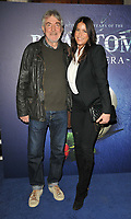 """Lisa Snowdon and her dad Nigel at the """"The Phantom Of The Opera"""" 35th anniversary gala performance, Her Majesty's Theatre, Haymarket, on Monday 11th October 2021, in London, England, UK. <br /> CAP/CAN<br /> ©CAN/Capital Pictures"""