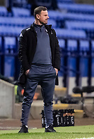 Salford City's manager Richie Wellens looks on <br /> <br /> Photographer Andrew Kearns/CameraSport<br /> <br /> The EFL Sky Bet League Two - Bolton Wanderers v Salford City - Friday 13th November 2020 - University of Bolton Stadium - Bolton<br /> <br /> World Copyright © 2020 CameraSport. All rights reserved. 43 Linden Ave. Countesthorpe. Leicester. England. LE8 5PG - Tel: +44 (0) 116 277 4147 - admin@camerasport.com - www.camerasport.com