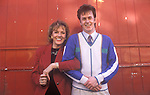 Kevin Devine 1991 presenter on the TV programme Thats Life with Esther Rantzen London Uk