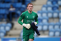 Aidan Stone of Mansfield Town during Colchester United vs Mansfield Town, Sky Bet EFL League 2 Football at the JobServe Community Stadium on 14th February 2021
