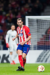 Diego Roberto Godin Leal of Atletico de Madrid in action during the UEFA Europa League 2017-18 Round of 32 (2nd leg) match between Atletico de Madrid and FC Copenhague at Wanda Metropolitano  on February 22 2018 in Madrid, Spain. Photo by Diego Souto / Power Sport Images
