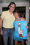 One Life to Live Tom Degnan & ATWT with Angela Baldwin who paid I think $3000 for this painting  A Night of Stars on May 14 at Bistro Soleil, Olde Marco Inn, Marco Island, Florida - SWFL Soapfest Charity Weekend May 14 & !5, 2011 benefitting several children's charities including the Eimerman Center providing educational & outfeach services for children for autism. see www.autismspeaks.org. (Photo by Sue Coflin/Max Photos)