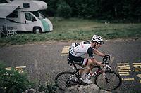 Nikias Arndt (DEU/Sunweb) up the first HC climb of the day; the Col de la Biche (10.5km @9%)<br /> <br /> 104th Tour de France 2017<br /> Stage 9 - Nantua › Chambéry (181km)