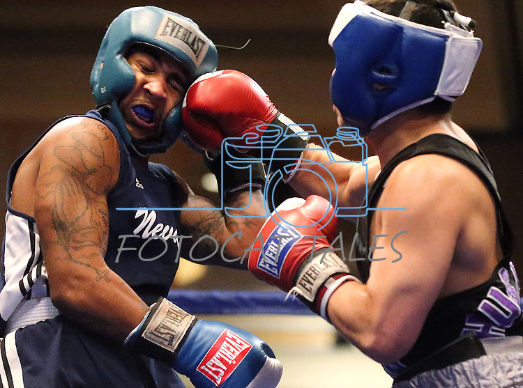 Images from the Nevada Boxing bout between Nevada's Maurice Hooks and University of Washington's Adolph Rivas at the Eldorado in Reno, Nev., on Friday, Feb. 22, 2013. Hooks won the bout..Photo by Cathleen Allison