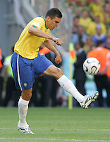 Lucio of Brazil. Brazil defeated Australia, 2-0, in their FIFA World Cup Group F match at the FIFA World Cup Stadium, Munich, Germany, June 18, 2006.