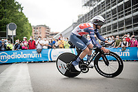 Jacopo Mosca (ITA/Trek - Segafredo)<br /> <br /> 104th Giro d'Italia 2021 (2.UWT)<br /> Stage 1 (ITT) from Turin to Turin (8.6 km)<br /> <br /> ©kramon