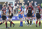Referee George Clancy<br /> RaboPro 12<br /> Newport Gwent Dragons v Connacht<br /> Rodney Parade<br /> 23.03.14<br /> <br /> ©Steve Pope-SPORTINGWALES