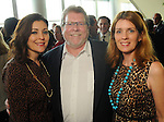 From left: Noralisa Martinez with David and Debra Boniuk at the Holocaust Museum Houston's Guardian of the Human Spirit Luncheon at the Hilton Americas Hotel Monday Nov.18, 2013. (Dave Rossman photo)