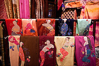 Imported asian cloth and textiles.