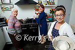 Cooking up an internet storm in Johnny's Cottage on Saturday morning. Front right: Miriam Owens Moriarty. Back l to r: Aine Callaghan and Breda Hurley.