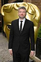 Charlie Brooker<br /> arriving for the BAFTA Craft Awards 2018 at The Brewery, London<br /> <br /> ©Ash Knotek  D3398  22/04/2018