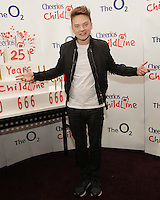 20/11/13<br /> Conor Maynard who will be performing Cheerios Childline Concert at the O2 Dublin this evening….<br /> Pic Collins Photos