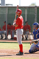 Randal Grichuk - Los Angeles Angels, 2009 Instructional League.Photo by:  Bill Mitchell/Four Seam Images..