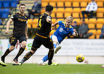 St Johnstone v Motherwell…08.08.21  McDiarmid Park<br />Ali McCann shoots wide<br />Picture by Graeme Hart.<br />Copyright Perthshire Picture Agency<br />Tel: 01738 623350  Mobile: 07990 594431