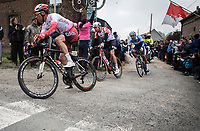 Bert Van Lerberghe (BEL/Cofidis) cornering <br /> <br /> 117th Paris-Roubaix (1.UWT)<br /> 1 Day Race: Compiègne-Roubaix (257km)<br /> <br /> ©kramon