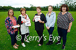 Casement View residents from Ardfert launching their fundraiser for Comfort for Chemo in Ardfert on Sunday. L to r: Therese Carroll (UHK), Mary Fitzgerald (Comfort for Chemo), Breda and Nicole O'Connor and Helen Geary.