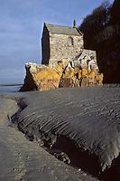 Europe/France/Normandie/Basse-Normandie/50/Manche/Mont Saint-Michel: La chapelle Saint-Aubert