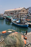 Asie/Israel/Tel-Aviv-Jaffa/Veux Jaffa: le port de pèche