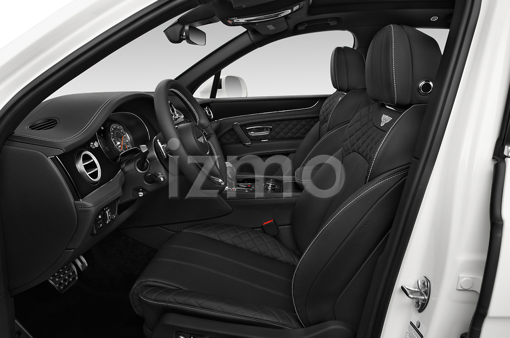 Front seat view of a 2018 Bentley Bentayga Base 5 Door SUV front seat car photos