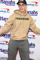 PHILADELPHIA, PA - DECEMBER 6 :  Logic pictured back stage at Q102's Jingle Ball at a meet and greet at the Wells Fargo Center in Philadelphia, Pa on December 6, 2017  ***HOUSE COVERAGE Credit: Star Shooter / MediaPunch /nortephoto.com NORTEPHOTOMEXICO