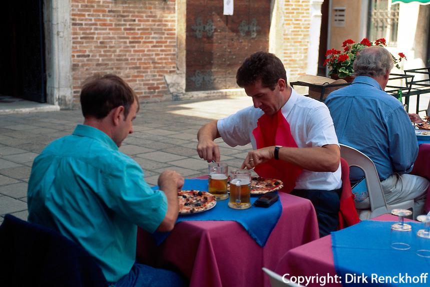 Restaurant am Campo Stoma, Venedig, Venetien, Italien