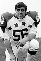 Phil Minnick 1970 Canadian Football League Allstar team. Copyright photograph Ted Grant
