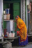 Asie/Inde/Rajasthan/Jaipur : Dans le quartier d'Indra Market