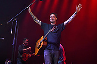 SEP 16 Frank Turner performing at The Roundhouse, Camden, London