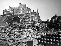Ruins of Arsenal, Richmond.  April 1865. Alexander Gardner. (War Dept.)<br /> Exact Date Shot Unknown<br /> NARA FILE #: 165-SB-91<br /> WAR & CONFLICT BOOK #:  249