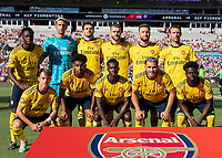 CHARLOTTE, NC - JULY 20: Arsenal during a game between ACF Fiorentina and Arsenal at Bank of America Stadium on July 20, 2019 in Charlotte, North Carolina.
