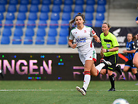 OHL's Luna Vanzeir pictured during a female soccer game between Club Brugge Dames YLA and Oud Heverlee Leuven on the 8 th matchday of the 2020 - 2021 season of Belgian Scooore Womens Super League , saturday 21 th November 2020  in Knokke , Belgium . PHOTO SPORTPIX.BE | SPP | DAVID CATRY