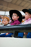 January 2009: Young boys watch the action at the CBR World Championships in Las Vegas.