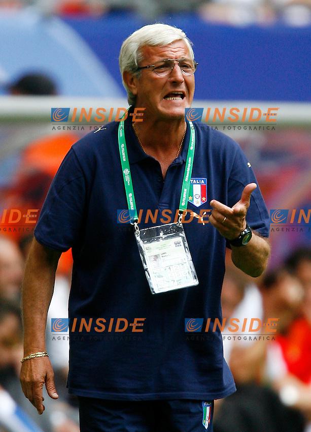 HAmburg 22/6/2006 World Cup 2006.Repubblica Ceca Italia 0-2.Photo Andrea Staccioli Insidefoto.l'allenatore marcello lippi