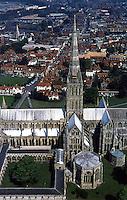 Salisbury: Salisbury Cathedral and City.