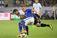 Thomas Lam (Finnland) gegen Kevin Volland (Deutschland Germany) - Deutschland vs. Finnland, Borussia Park, Mönchengladbach