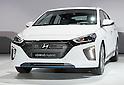 Hyundai unveils Ioniq hybrid car