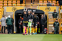 23rd May 2021; Molineux Stadium, Wolverhampton, West Midlands, England; English Premier League Football, Wolverhampton Wanderers versus Manchester United; Conor Coady of Wolverhampton Wanderers applauds the fans as he leads out his team