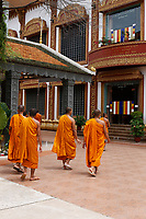 Monks and novices<br />  , Siem Reap<br /> , Cambodia<br /> <br /> PHOTO :  Agence Quebec Presse<br /> <br /> <br /> <br /> <br /> <br /> PHOTO : Agence Quebec Presse