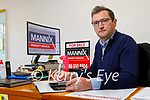 Brendan Mannix auctioneer at his offices in Castleisland