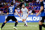 Chelsea Midfielder Cesc Fabregas in action during the International Champions Cup 2017 match between FC Internazionale and Chelsea FC on July 29, 2017 in Singapore. Photo by Marcio Rodrigo Machado / Power Sport Images
