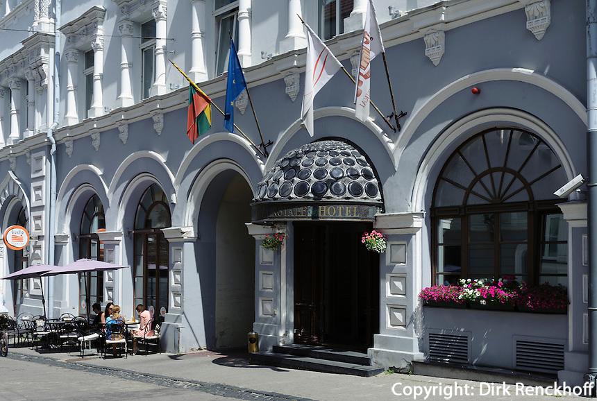 Hotel Europa Royale in der Ausros Vartu in Vilnius, Litauen, Europa, Unesco-Weltkulturerbe