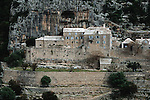 .Brac island. Blaca monastery.Cruise in Croatia. Island of Dalmatia