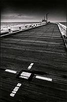Europe , Belgique , Flandre , Flandre Occidentale , Ostende: Jetée du port  // Europe, Belgium, West Flanders, Ostende: Harbour Jetty