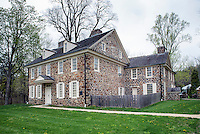 Historic Waynesboro, home of Major General Anthony Wayne, 1745-1796, Paoli, Pennsylvania, PA, USA