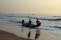Fischer   in Mahabalipuram, Tamil Nadu, Indien