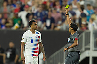 CLEVELAND, OHIO - JUNE 22: Weston McKennie during a 2019 CONCACAF Gold Cup group D match between the United States and Trinidad & Tobago at FirstEnergy Stadium on June 22, 2019 in Cleveland, Ohio.
