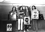 Led Zeppelin 1970 John Paul Jones, Jimmy Page, Robert Plant and John Bonham......
